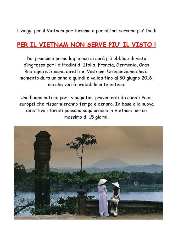 VIETNAM SENZA VISTO-001