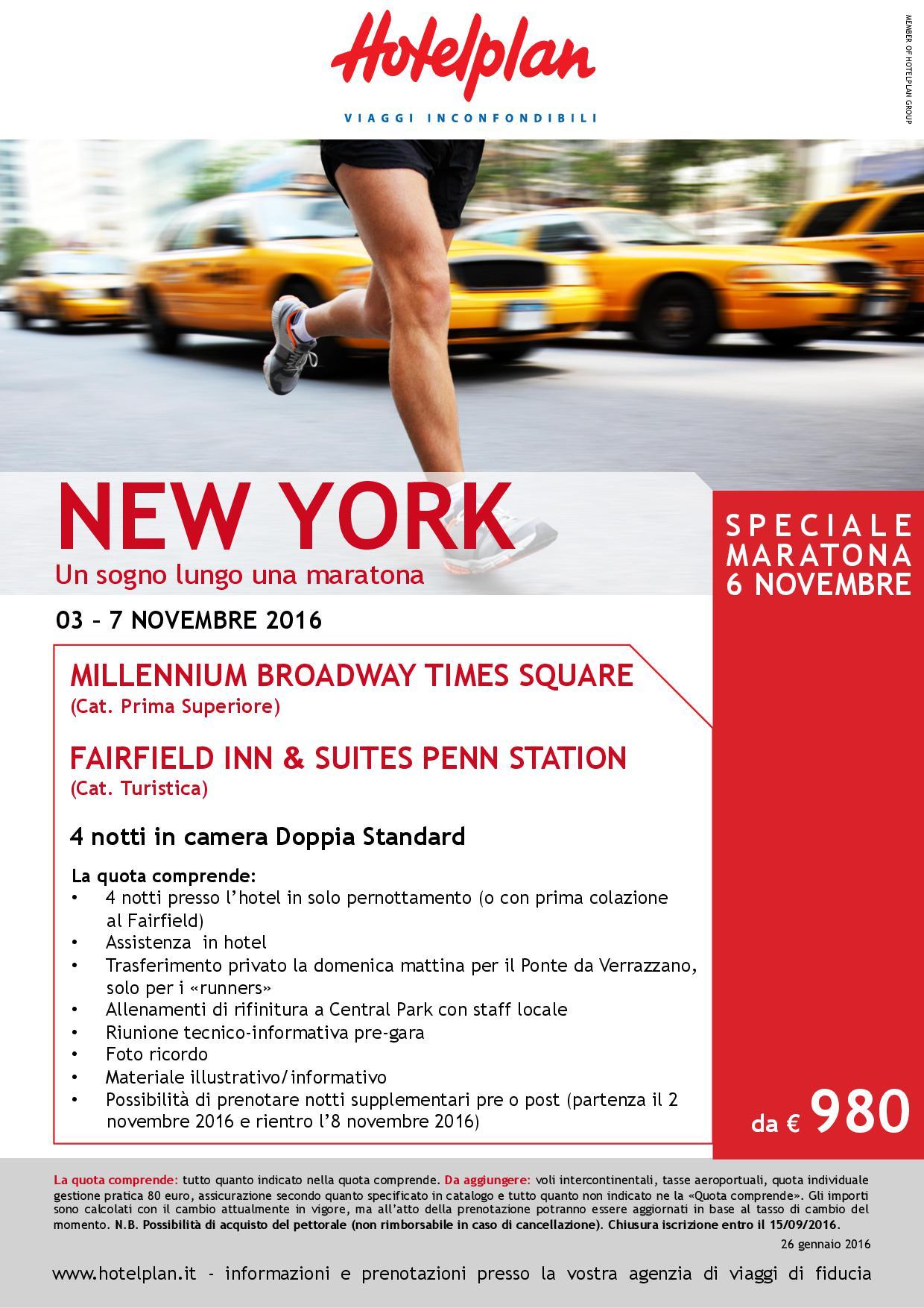 Maratona a new york 2016 agenzia di viaggi business travel for Pacchetti volo e soggiorno new york