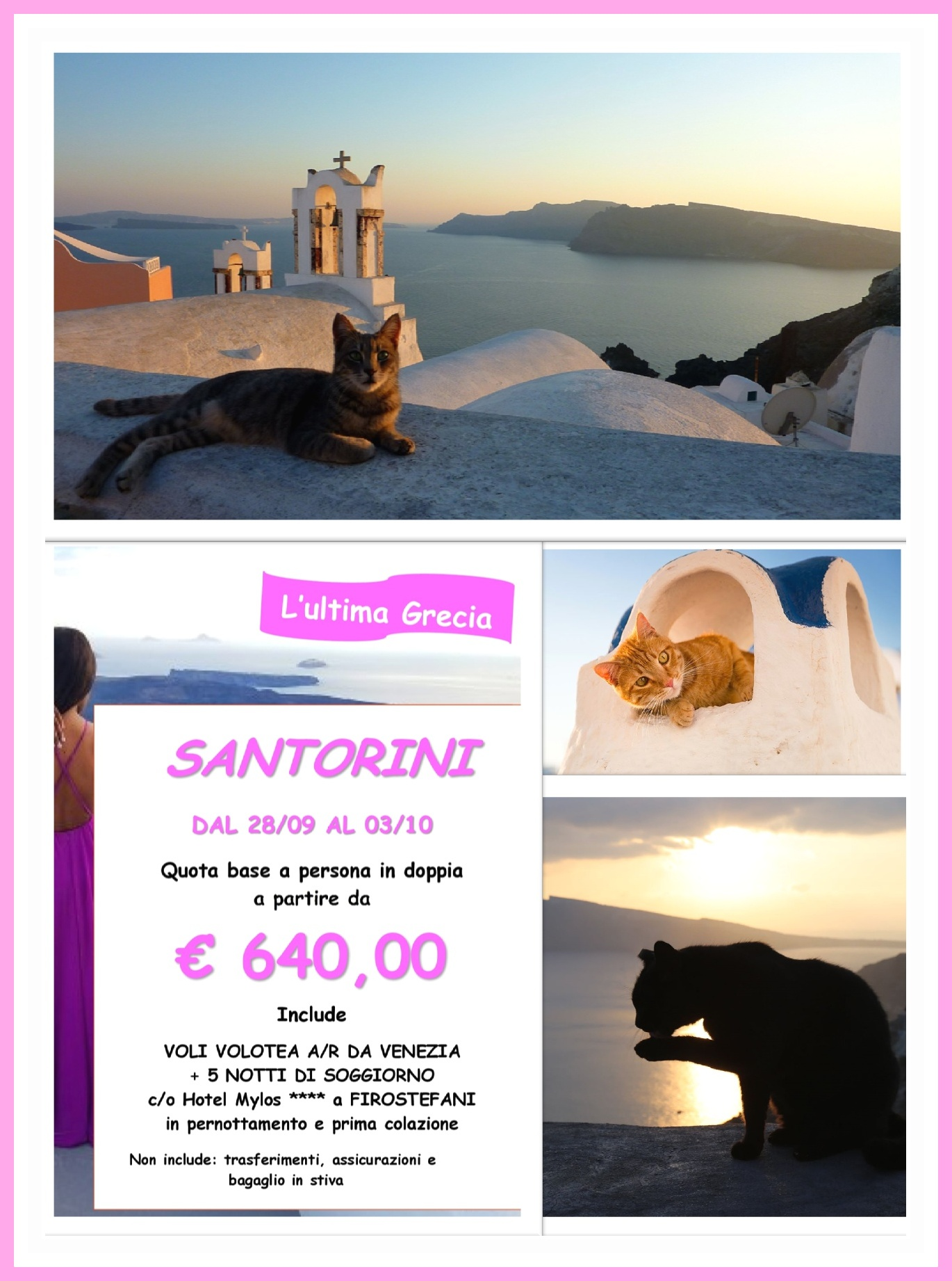 santorini-collage