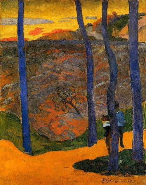quadro-del-mese-ottobre-19-alberi-blu-gaugin