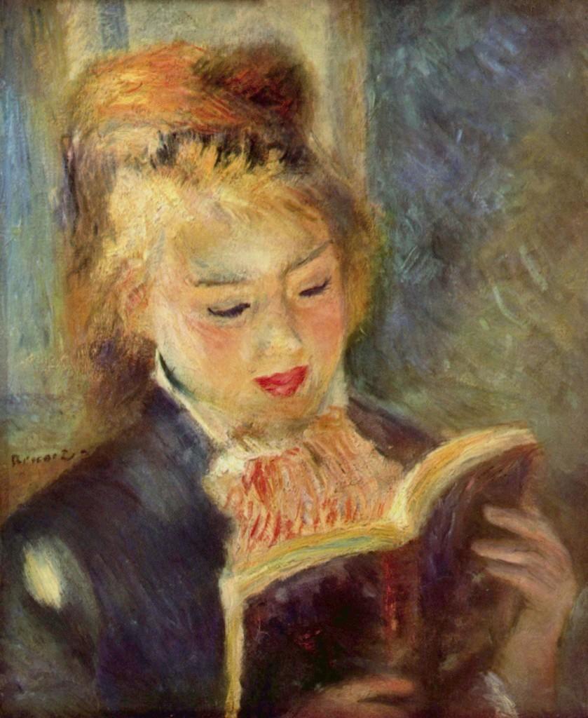 La Lettrice - Pierre Auguste Renoir